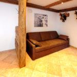 Lounge für Besucher des Berghofs