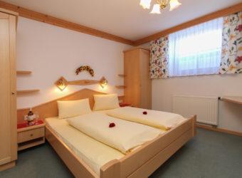 Schlafzimmer des Appartement 1 Im Landhaus Gensbichler