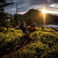 Biken in Saalbach Hinterglemm mit Fabio Wibmer